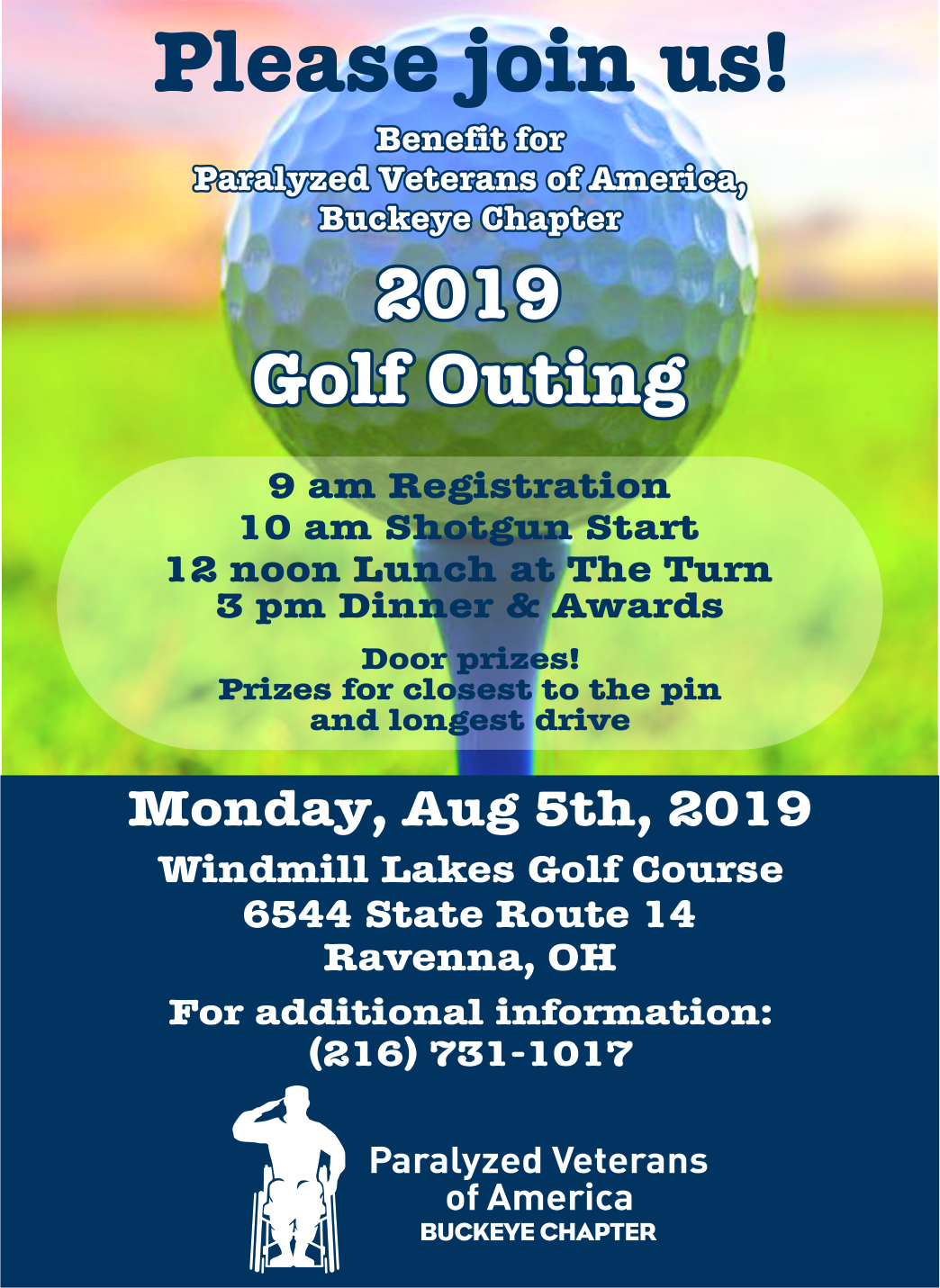Buckeye PVA golf outing proof 2019
