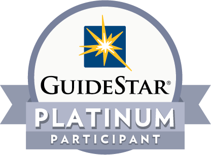 GuideStar Platinum Participant badge